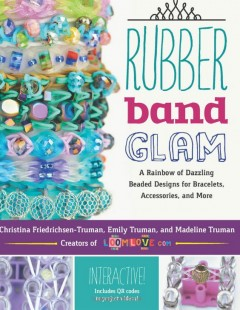 rubber band glam book