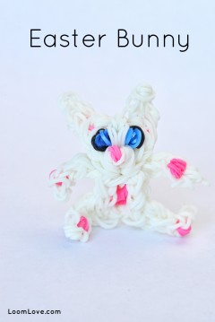 bunny easter rainbow loom