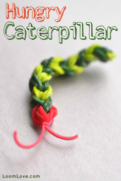 caterpillar rainbow loom