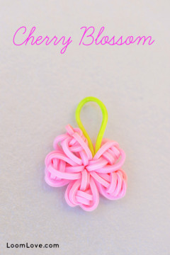 cherry blossom charm