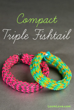 compact triple fishtail