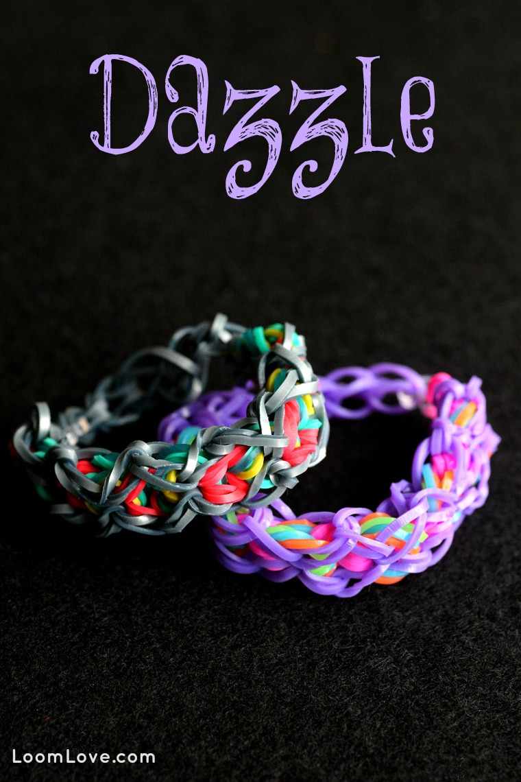 How to Make a Rainbow Loom Dazzle Bracelet