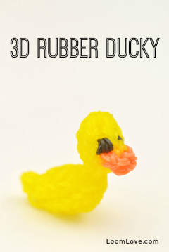 rubber ducky rainbow loom