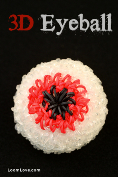 eyeball rainbow loom