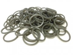 gray rubber bands