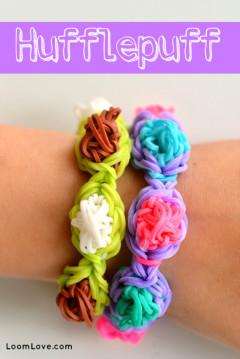 hufflepuff rainbow loom