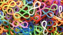 infinity loom bands