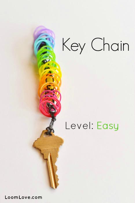 How To Make A Rainbow Loom Key Chain
