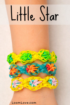 little star rainbow loom