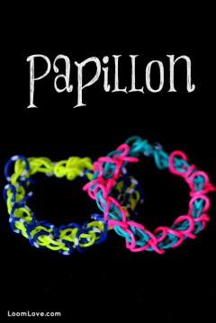 papillon rainbow loom