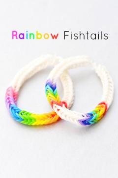 rainbow fishtail