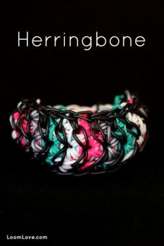 rainbow loom herringbone