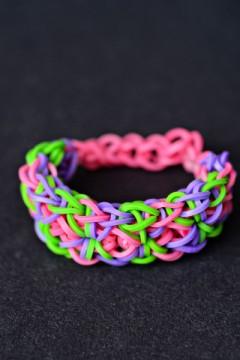 starburst weave bracelet