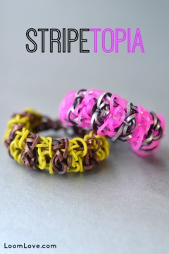 stripetopia rainbow loom