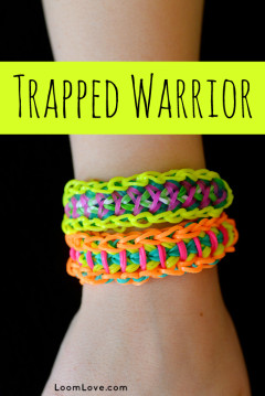 trapped warrior rainbow loom