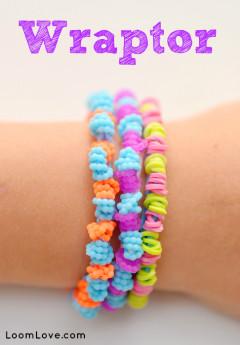 rainbow loom wraptor bracelet