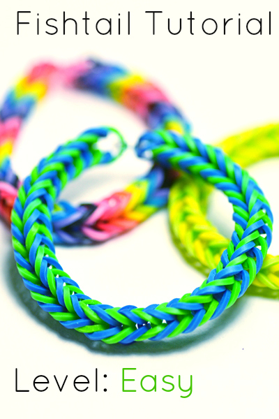how to make a fishtail rubber band bracelet how to make a fishtail bracelet 7414