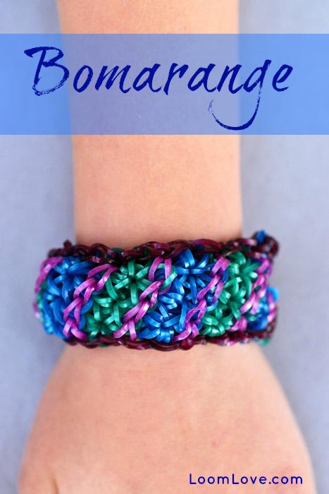 How To Make A Bomarange Rainbow Loom Bracelet