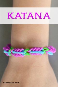 katana rainbow loom