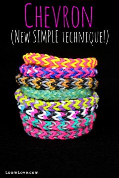 easy chevron bracelet