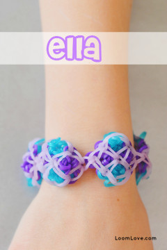 Ella Rainbow Loom Bracelet