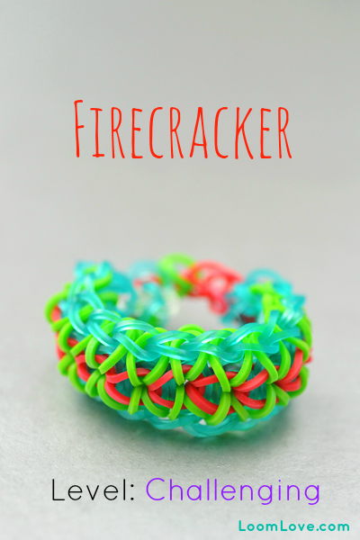 How To Make A Firecracker Bracelet