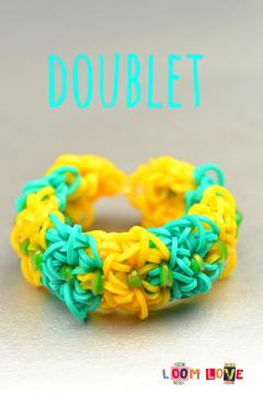 doublet rainbow loom