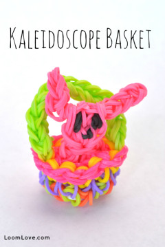 kaledoscope basket rainbow loom