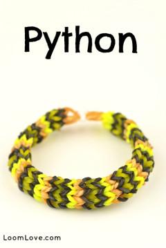python rainbow loom