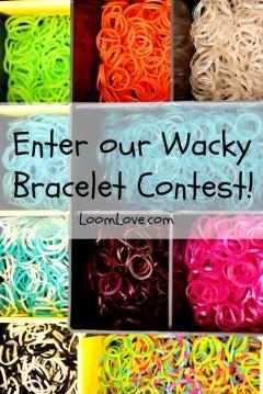 rainbow loom bracelet contest