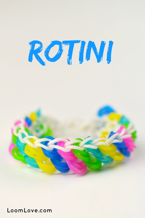 How To Make A Rainbow Loom Rotini Bracelet