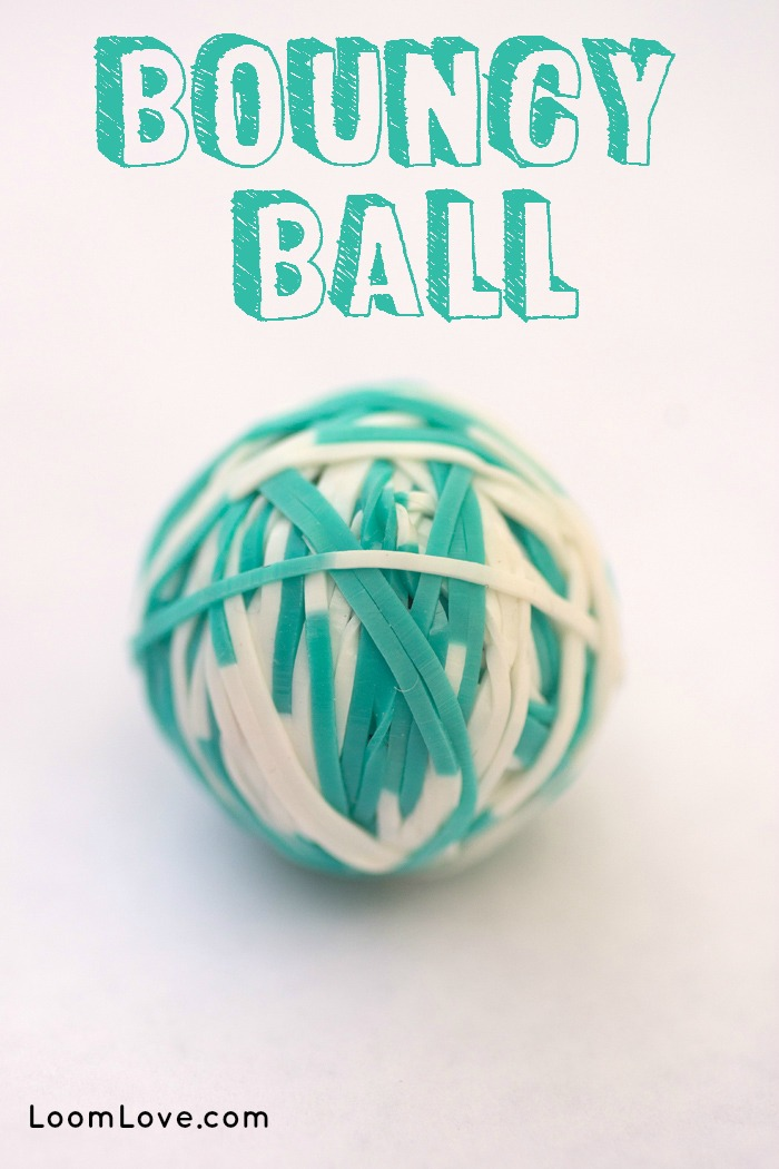 How To Make A Rainbow Loom Bouncy Ball
