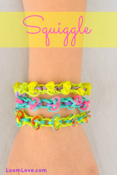 squiggle rainbow loom