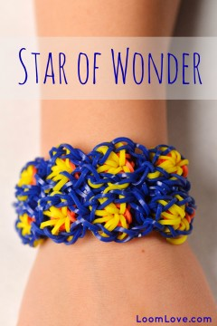 star of wonder rainbow loom instructions