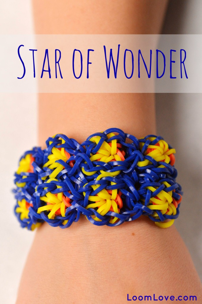 how to make star rubber band