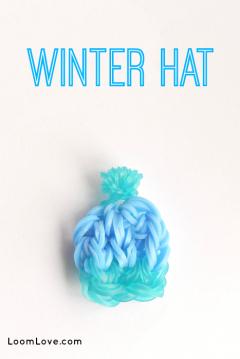 winter hat charm