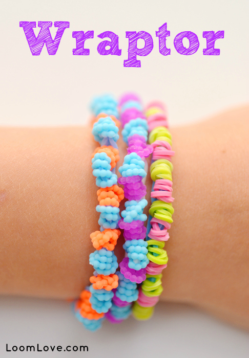 Rainbow Loom Bracelet The Wraptor From Loomlove Com
